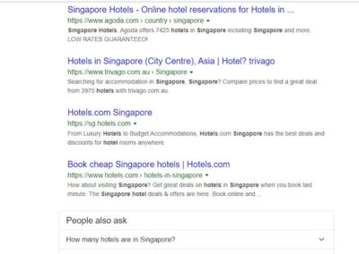 Hotel Seo with marketing plan for hotel